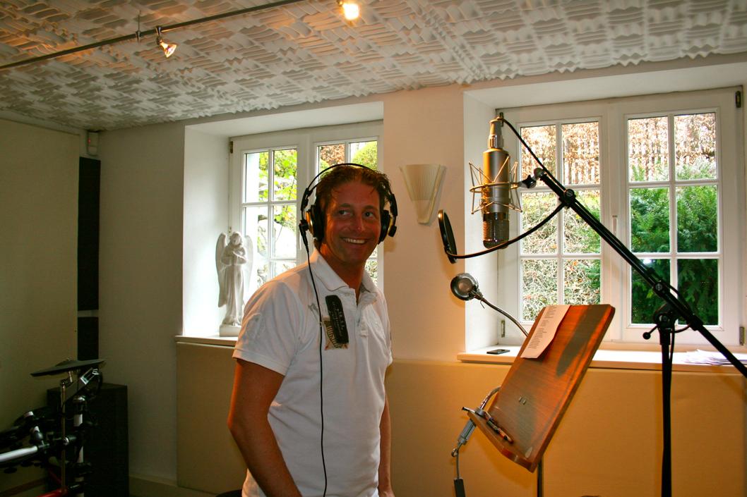 Studio Aufnahmen zum Album